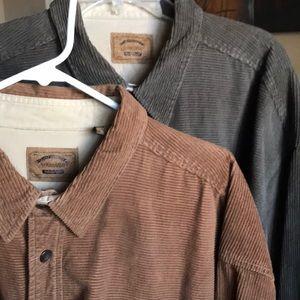 St Johns Bay Heavyweight Corduroy ButtonDown Shirt